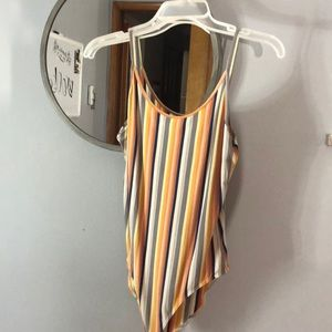 American eagle striped bodysuit